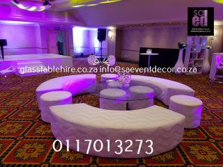 Circular Lounge Set Furniture Rentals