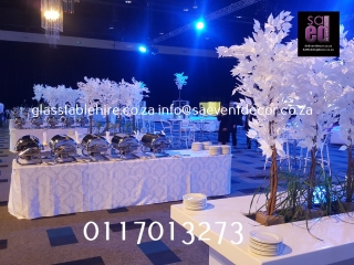 All White Decor Furniture Rental