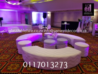 Circular Lounge Set Furniture Rentals