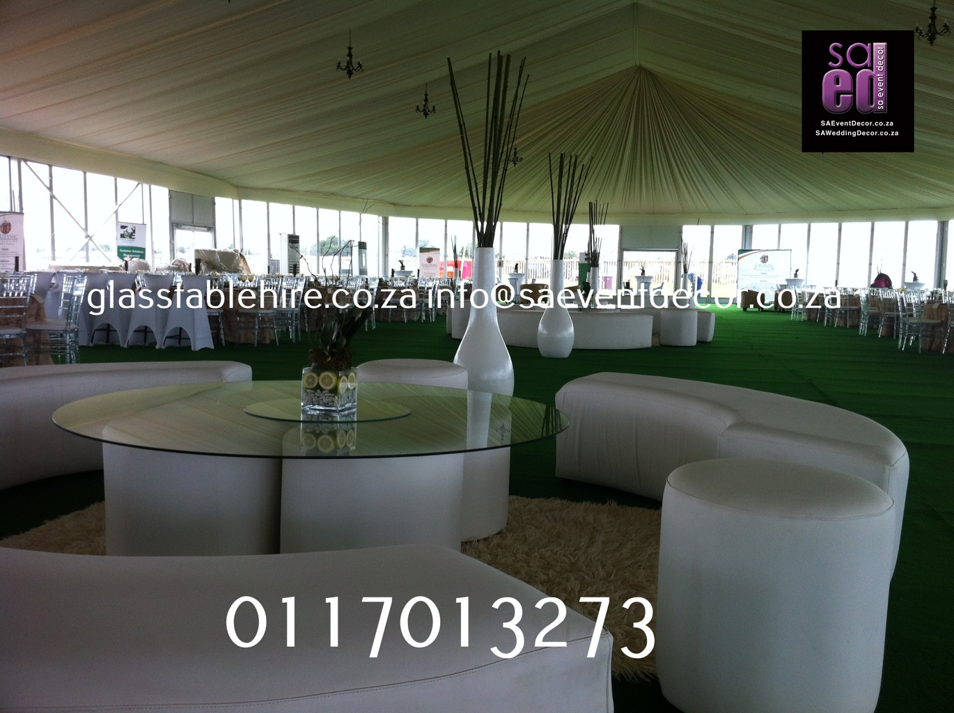 All White Lounge Cocktail Furniture Rental