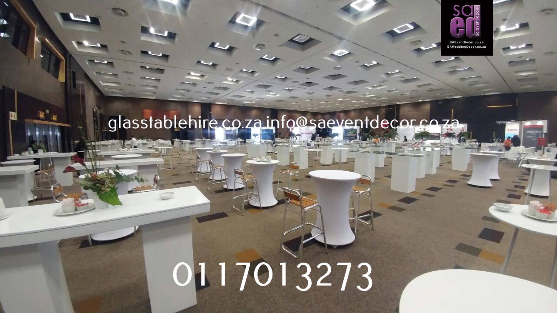 High Gloss Conversation Tables Furniture Rentals