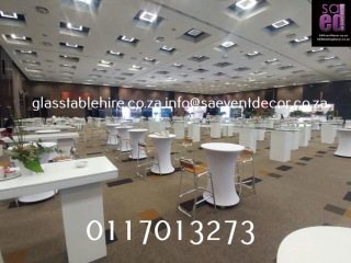 High Gloss Conversation Tables Furniture Rentals