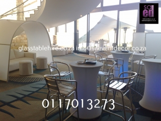 LED Cocktail Table Furniture Hire