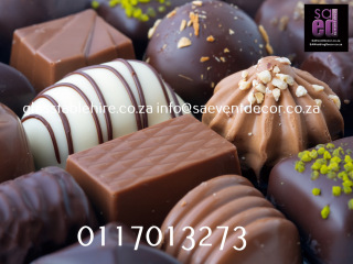 Chocolate Backdrop Rental