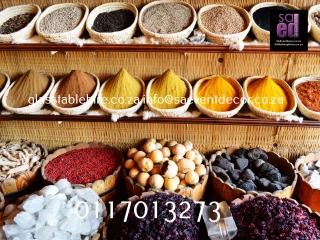 Spice Market Backdrop Rental