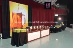 Themed Printed German Beer fest Backdrop Hire