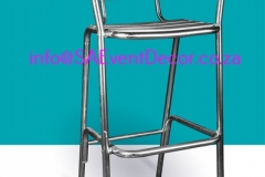 Aluminium Cocktail Chair Hire From SA Event Decor (2)