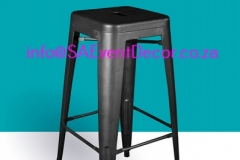 Black Tolix Cocktail Cafe Chair Rental chairs for the perfect cocktail event From SA Event Decor