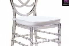 Clear Phoenix  Dining Chair In Perspex