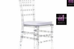 Clear Tiffany Perspex Dining Chair