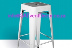 White Tolix Cocktail Cafe Chair Rental chairs for the perfect cocktail event From SA Event Decor