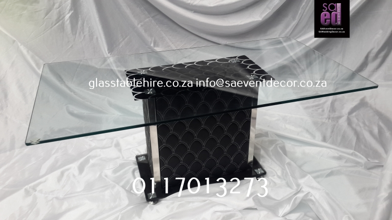 Aluminium & Glass Coffee Table