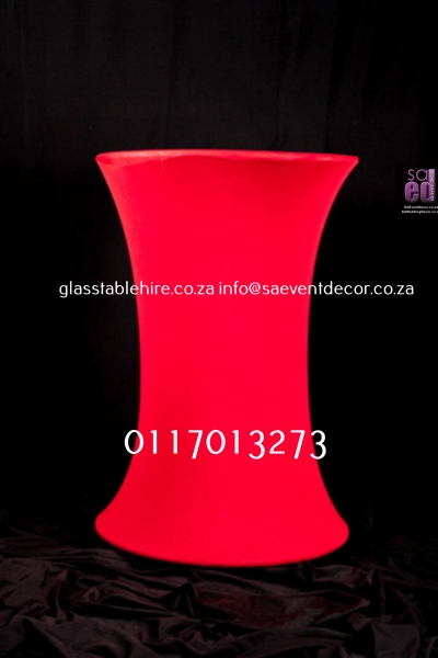 cocktail Red LED Cocktail Table
