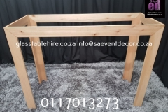 Table Frame In Natural wood