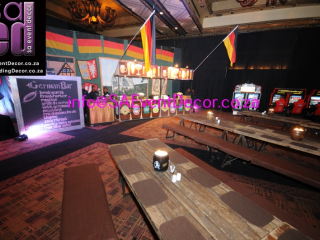 German beerfest Themed decor