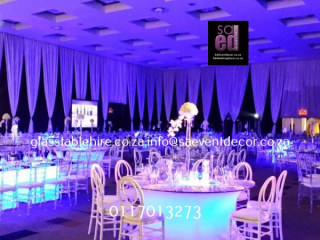 Sandton Convention Centre - Blue & White Cocktail Event