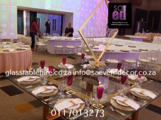 Sandton Convention Centre - Setting Up for the Grand Wedding