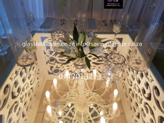 CNC Table Bases & Glass Table Hire