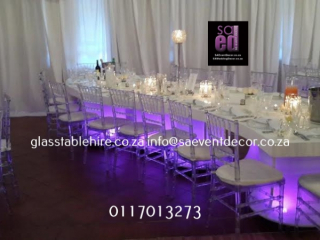High Gloss S-shaped Tables
