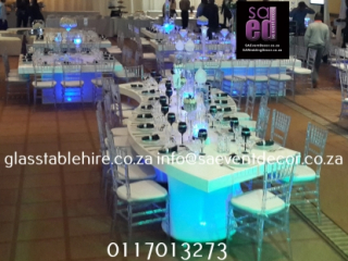 S-shaped  High Gloss Tables