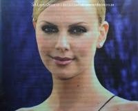 BacOsc02 Charlize Theron backdrop Hire