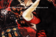 Themed Printed Moulin Rouge Backdrop Hire 20