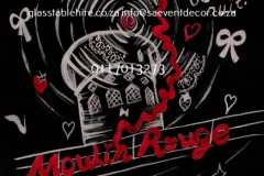 Themed Printed Moulin Rouge Backdrop Hire 23