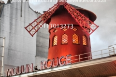 Themed Printed Moulin Rouge Backdrop Hire 24
