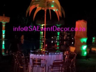 Ops deck tropical themed decor - Sun City
