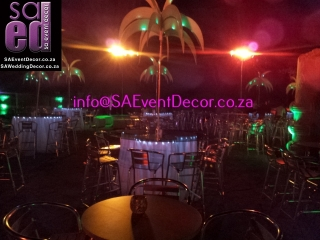 Ops deck tropical themed decor - Sun City