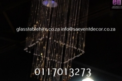Floating Crystal Chandeliers