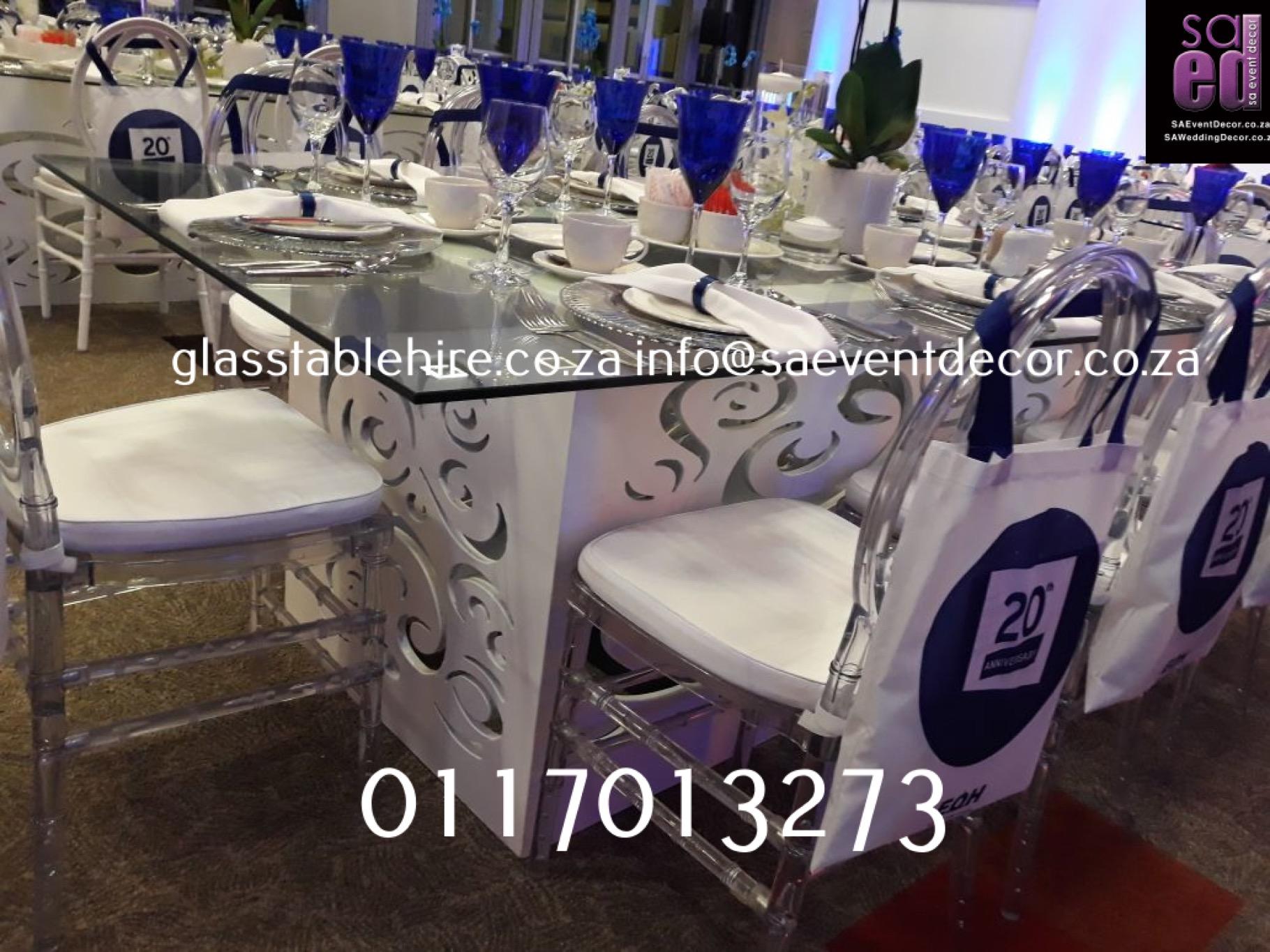 Sandton Convention Centre - Blue & White Cocktail Event