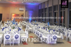 Blue & White Cooperate  Event At Sandton Convention Center