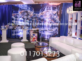 White Lounge Cocktail Furniture Rental
