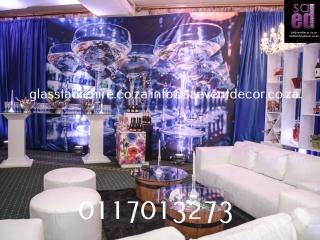White Lounge Cocktail Furniture Rental