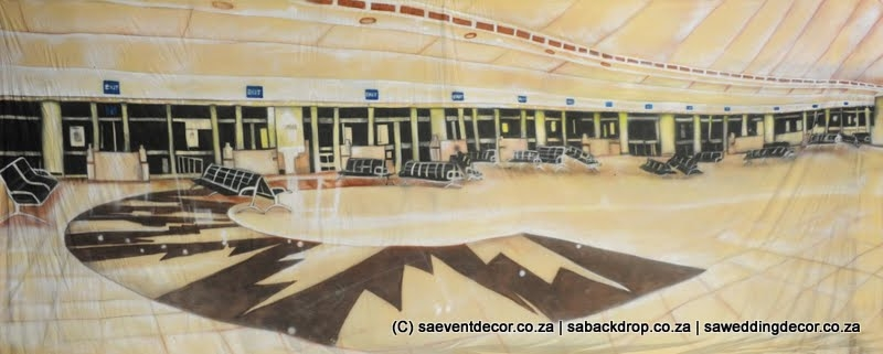 BacAir02 O.R. Tambo Airport Backdrop Hire