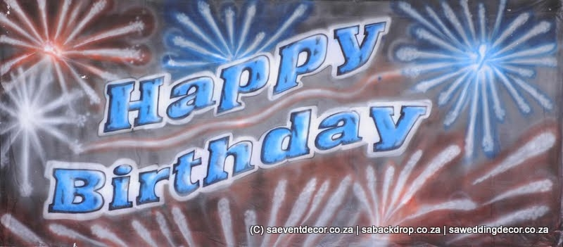 BacAll01 Happy Birthday Backdrop Rental
