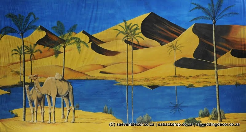Bacara02 Arabian Ocean Part 2 Themed Backdrop Rentals