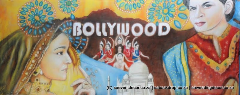 Bacbol05 Bollywood Actres Actor Films Movies India Themed backdrop hire
