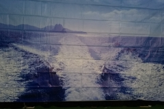 Sea backdrop Themed backdrop Hire