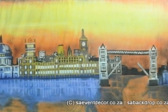BacAro02 Around The World London Theme Backdrop Rental