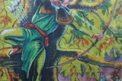 BacMed03 London King Arthur Themed backdrop Hire