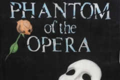 BacPha03 Phantom Of The Opera Themed backdrop Hire