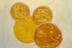BacPro12 Proudly South African Gold Coins Themed backdrop Hire