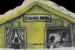 BacSop08 SophiaTown  Themed backdrop Hire