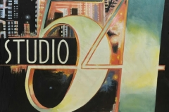 acStu01 Studio54 Themed backdrop Hire