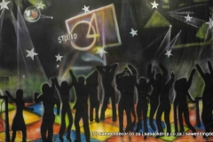BacStu02 Studio 54 Themed_backdrop Hire