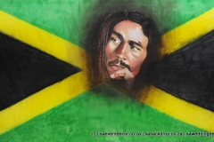 Bacaro04   Around The World Bob Marley Backdrop Hire