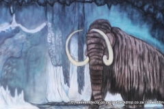 Bacevo02 Evolution Ice Age Themed Backdrop Hire