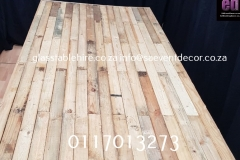 Rustic Table Top In Natural Wood